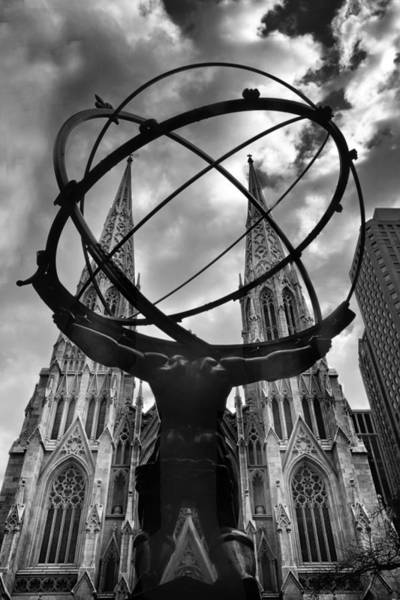 Photograph - Atlas Holding The Heavens by Jessica Jenney