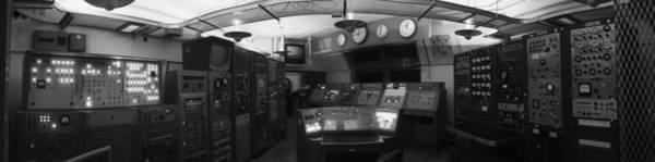 Photograph - Atlas Rocket Launch Control Room by Rolf Bertram