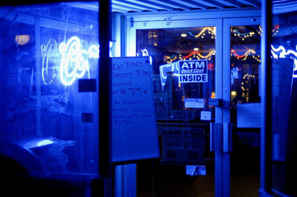 Bar Tender Photograph - Atm Bar by Erich Grant