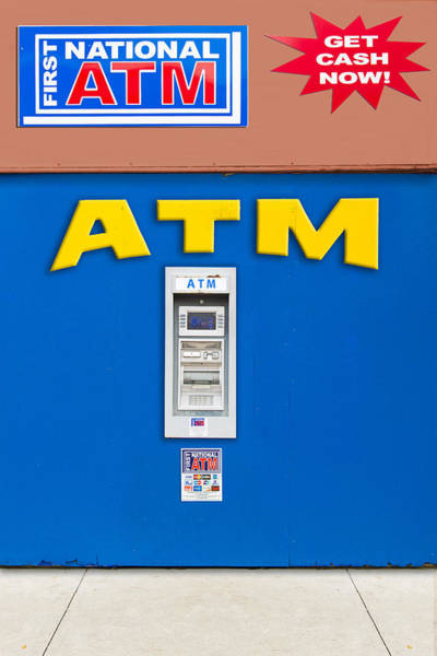 Photograph - ATM by Paul Wear