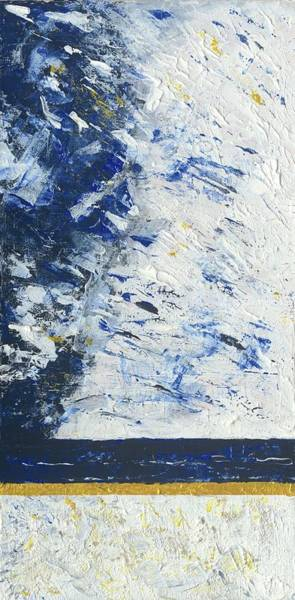 Painting - Atmospheric Conditions, Panel 1 Of 3 by Kathryn Riley Parker