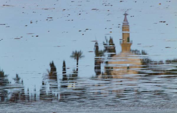 Nature Wall Art - Photograph - Atmospheric Hala Sultan Tekke Reflection At Larnaca Salt Lake by Iordanis Pallikaras