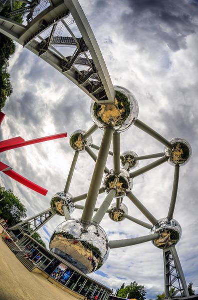 Photograph - Atomium 4 by Pablo Lopez