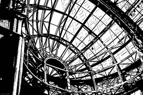 Photograph - Atrium At World Financial Center - Nyc by Frank Mari