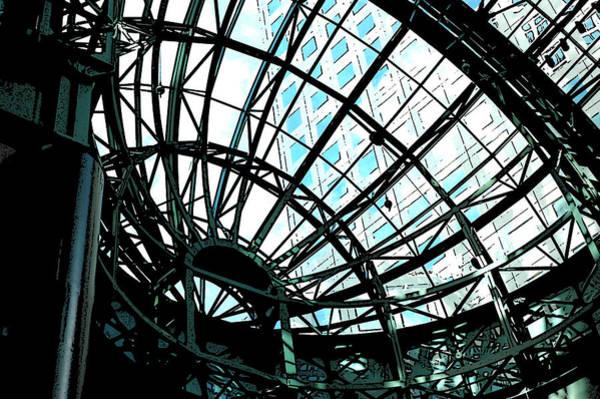 Photograph - Atrium At World Financial Center V1 - Nyc by Frank Mari