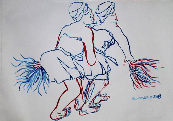 Atsiagbekor Traditional Dance Togo Art Print