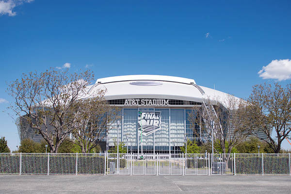 Photograph - Att Stadium Final Four 2014 by Rospotte Photography