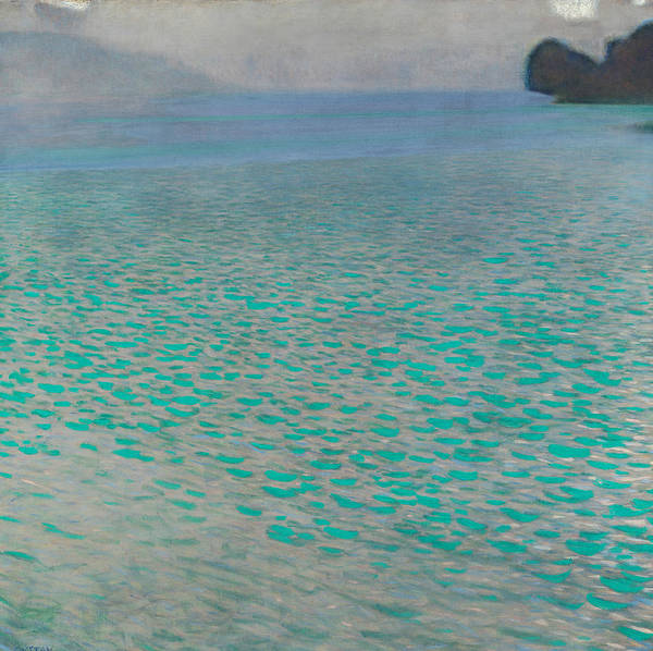 Painting - Attersee by Gustav Klimt