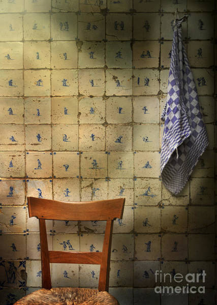 Photograph - Attic Chair And Rag by Craig J Satterlee