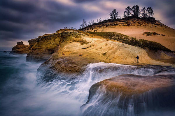 Wall Art - Photograph - Attracted To The Ocean by William Freebilly photography