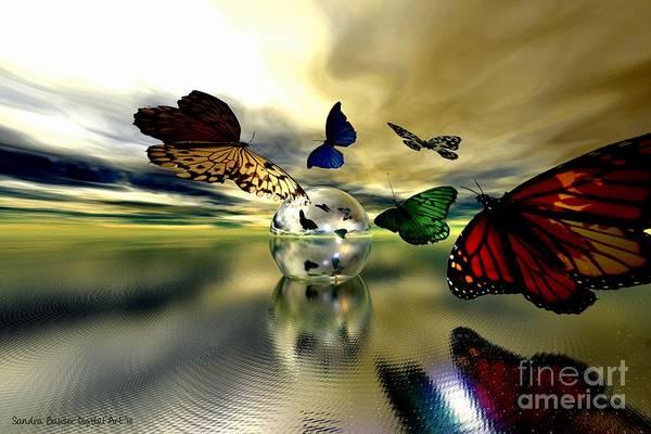 Digital Art - Attraction by Sandra Bauser Digital Art