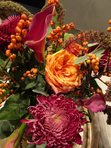 Photograph - Attractively Arranged Bunch  by Rosita Larsson