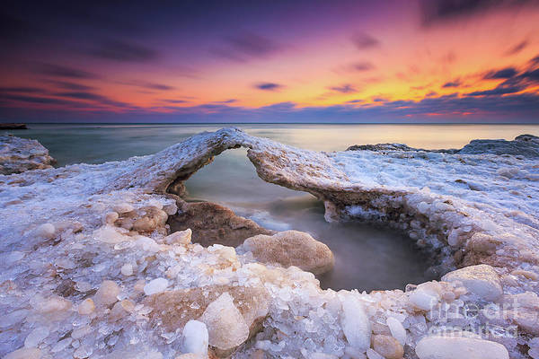 Mke Photograph - Atwater Ice Bridge by Andrew Slater