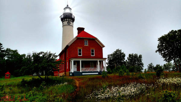 Lighthouse Wall Art - Photograph - Au Sable Point Lighthouse by Michael Rucker