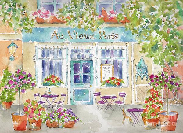 Painting - Au Vieux Paris by Pat Katz