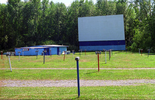Photograph - Auburn Ny - Drive-in Theater 3 by Frank Romeo