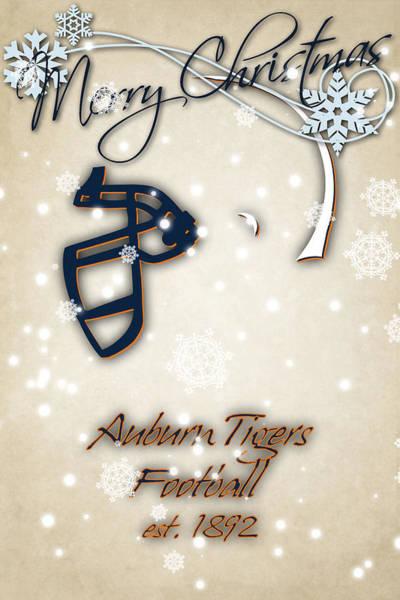 Wall Art - Photograph - Auburn Tigers Christmas Card 2 by Joe Hamilton