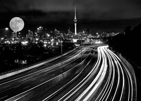 Wall Art - Photograph - Auckland Night by Mark Duffy