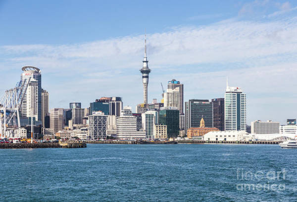 Photograph - Auckland Skyline by Didier Marti