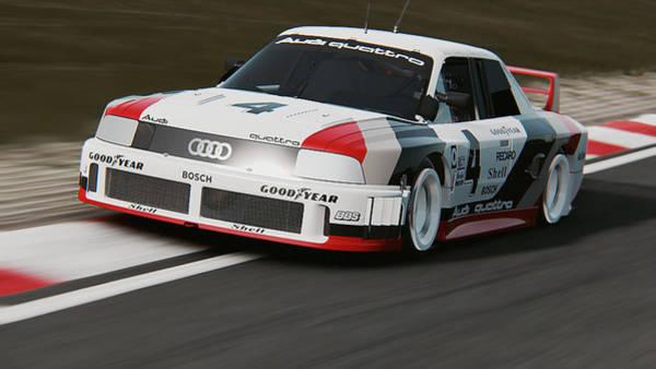 Photograph - Audi 90 Quattro Imsa Gto - 44 by Andrea Mazzocchetti