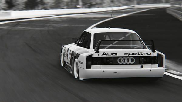 Photograph - Audi 90 Quattro Imsa Gto - 46 by Andrea Mazzocchetti