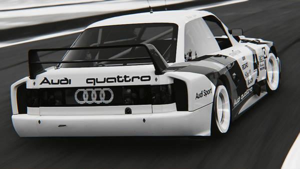 Photograph - Audi 90 Quattro Imsa Gto - 48 by Andrea Mazzocchetti