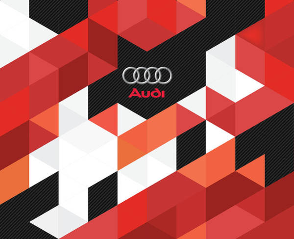 Carbon Fiber Photograph - Audi Fractals by Srdjan Petrovic