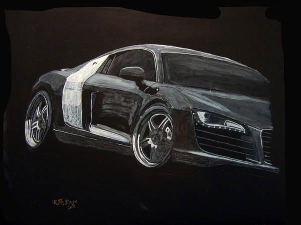 Painting - Audi Le Mans by Richard Le Page