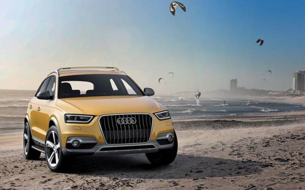 Q Digital Art - Audi Q3 Jinlong Yuneng Concept  by Mery Moon