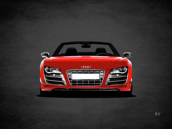 Supercar Photograph - Audi R8 by Mark Rogan