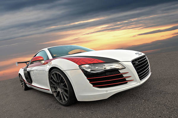 Wall Art - Photograph - Audi R8 Stasis At Sunset by Gill Billington