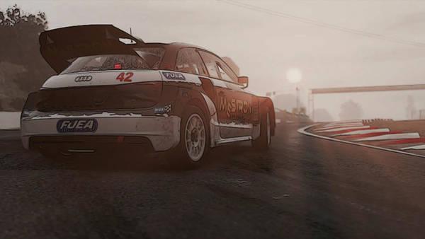 Photograph - Audi S1 Rx - 3 by Andrea Mazzocchetti