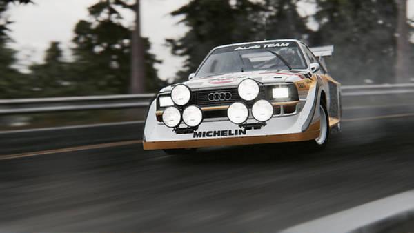 Photograph - Audi Sport Quattro 1986 - 01 by Andrea Mazzocchetti