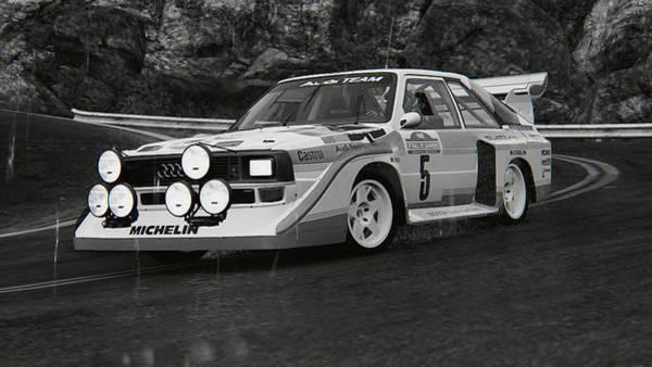 Photograph - Audi Sport Quattro 1986 - 02 by Andrea Mazzocchetti