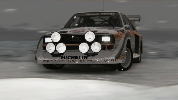 Photograph - Audi Sport Quattro 1986 - 08 by Andrea Mazzocchetti