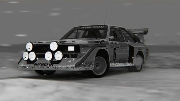 Photograph - Audi Sport Quattro 1986 - 09 by Andrea Mazzocchetti