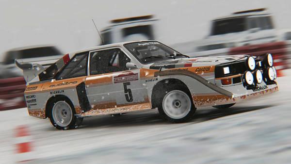 Photograph - Audi Sport Quattro 1986 - 10 by Andrea Mazzocchetti