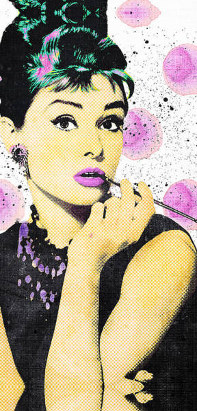 Entertainment Wall Art - Digital Art - Audrey by Canvas Cultures