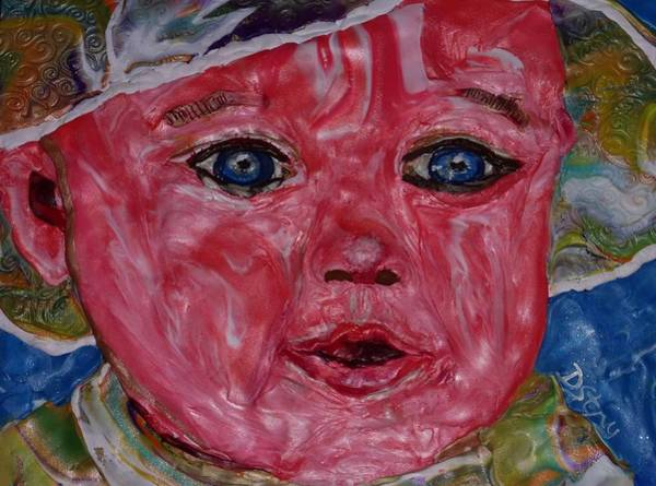 Mixed Media - Audrey by Deborah Stanley