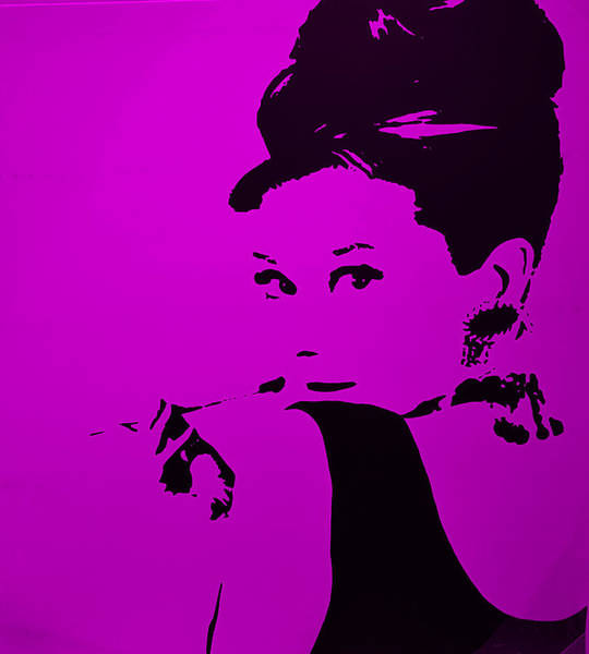 Photograph - Audrey Purple by Rob Hans