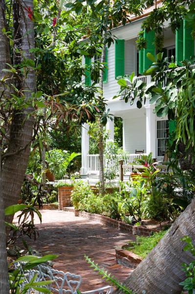 Photograph - Audubon House Entranceway by Ed Gleichman