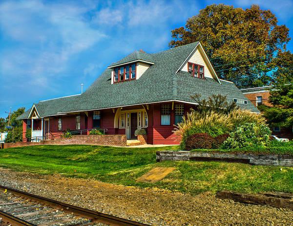 Photograph - Audubon Train Station by Nick Zelinsky