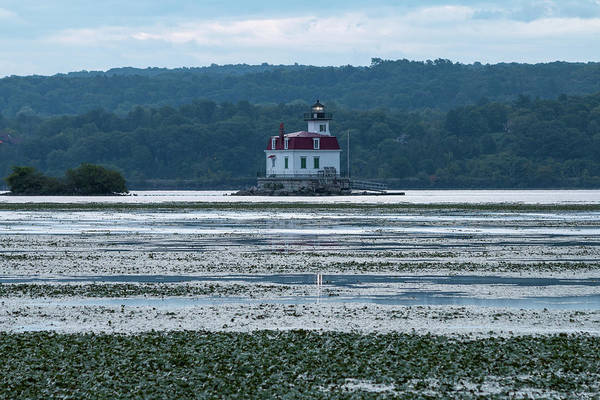 Photograph - August Dawn At Esopus Lighthouse by Jeff Severson
