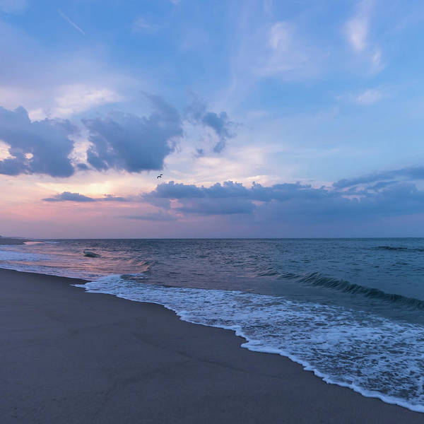 Photograph - August Sky Lavallette New Jersey Square by Terry DeLuco