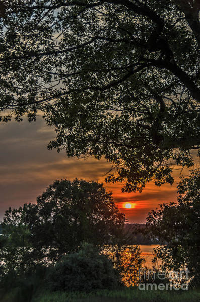 Photograph - August Sunset On Manistee Lake by Sue Smith