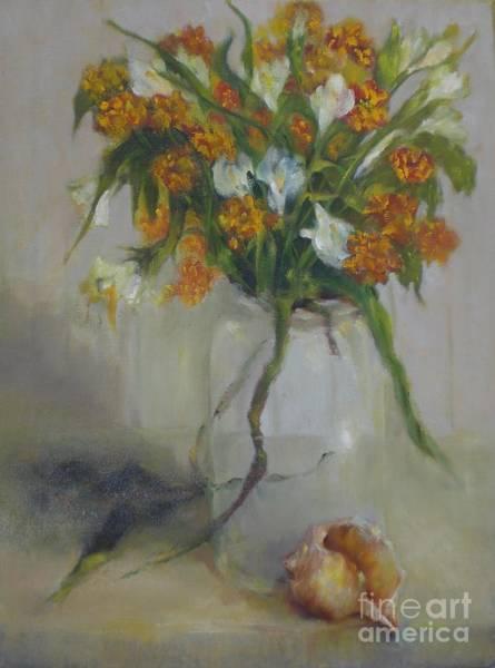 August Wildflowers        Copyrighted Art Print by Kathleen Hoekstra