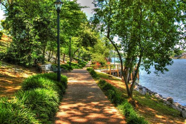 Photograph - Augusta River Walk 01 by Donald Williams