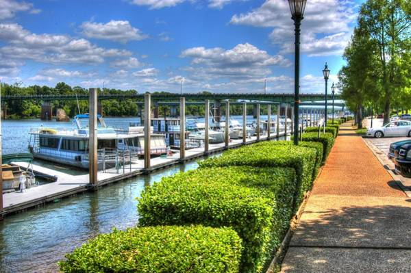 Photograph - Augusta River Walk 03 by Donald Williams