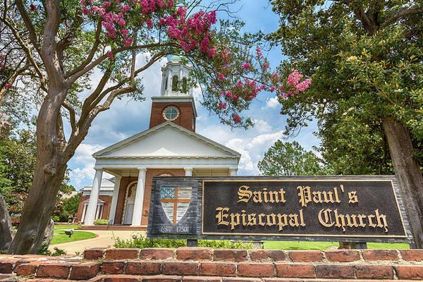 U2 Photograph - Augusta - Saint Paul's Episcopal  by Stephen Stookey