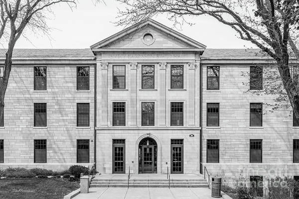 Photograph - Augustana College Carlsson Evald Hall by University Icons